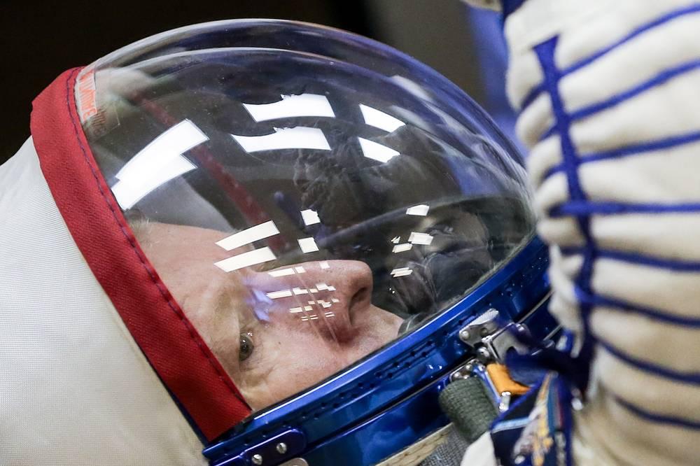 ESA astronaut Timothy Peake