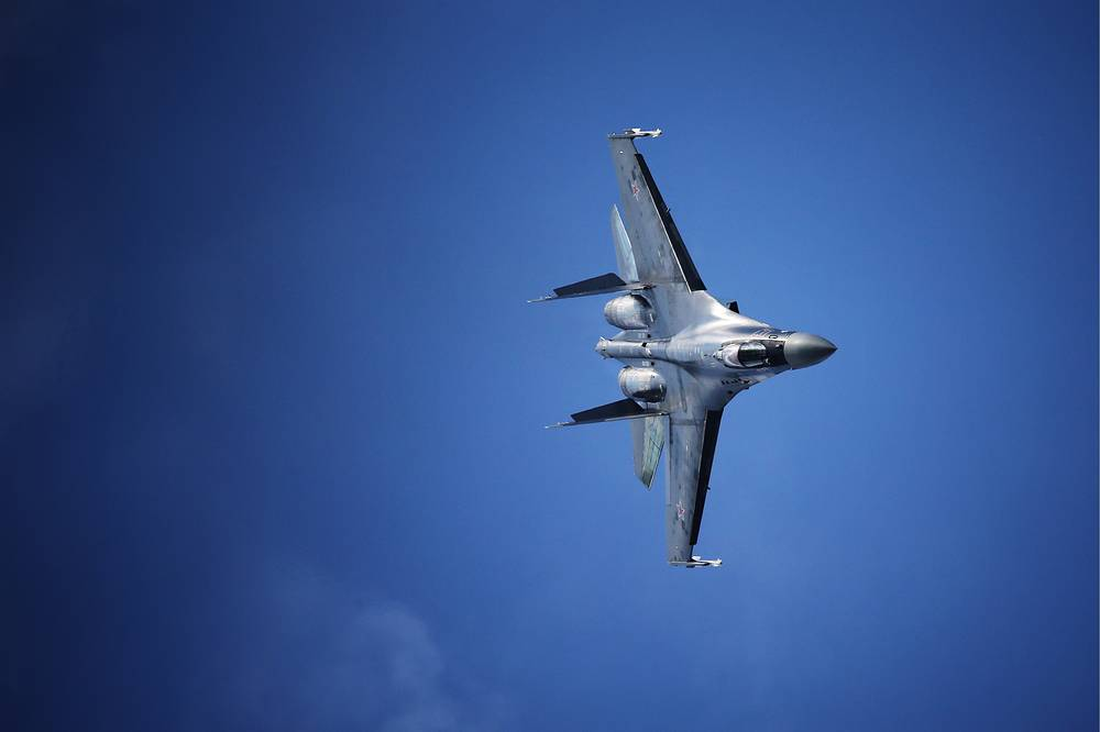 Sukhoi Su-35 fighter