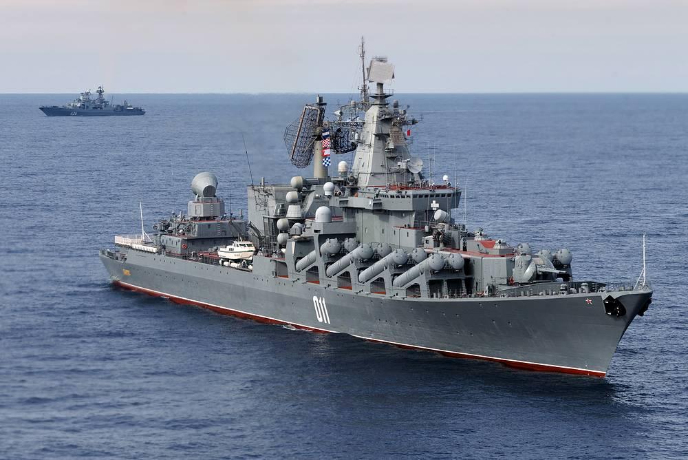 The Russian Pacific Fleet's Varyag cruiser
