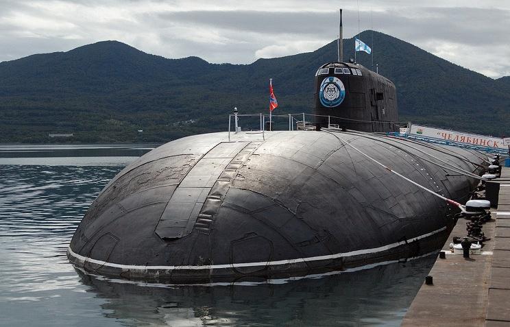Oscar-class Chelyabinsk nuclear submarine (K-442), Project 949A (Antey)