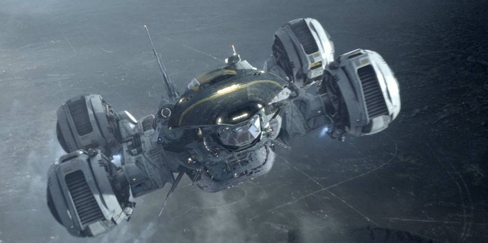 The Prometheus spaceship from 'Prometheus'