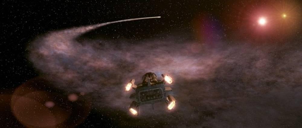 The Hunter Gratzner spacecraft from 'Pitch Black'