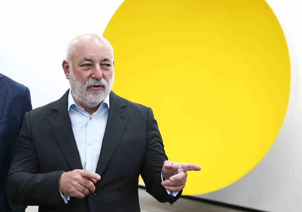 Viktor Vekselberg, the owner and president of Renova Group and Skolkovo Foundation president, $10.5 bln