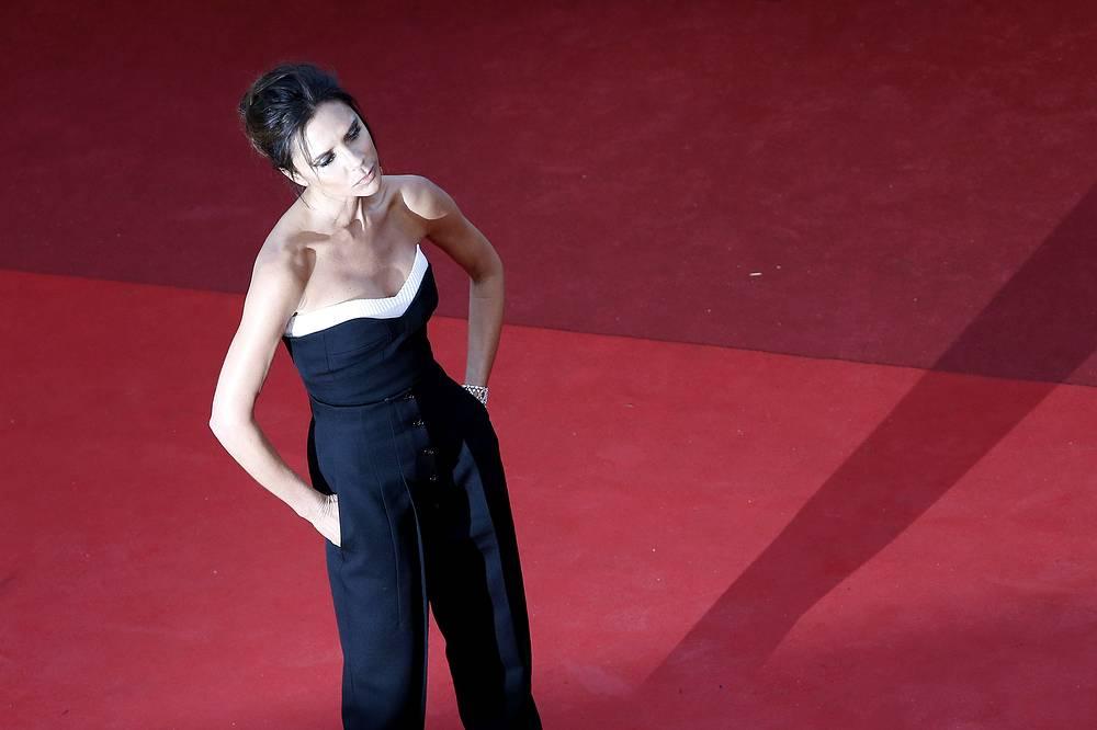 British designer Victoria Beckham
