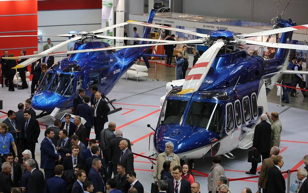 AgustaWestland AW119 Koala and AgustaWestland AW139 helicopters