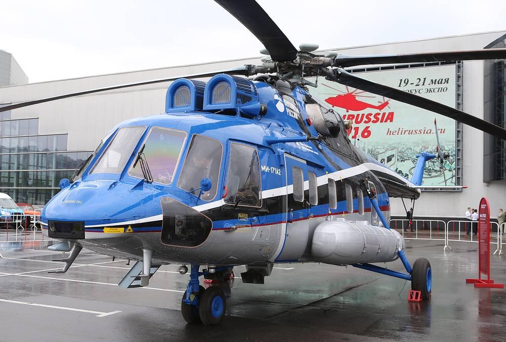 Mi-171A2 medium multirole helicopter
