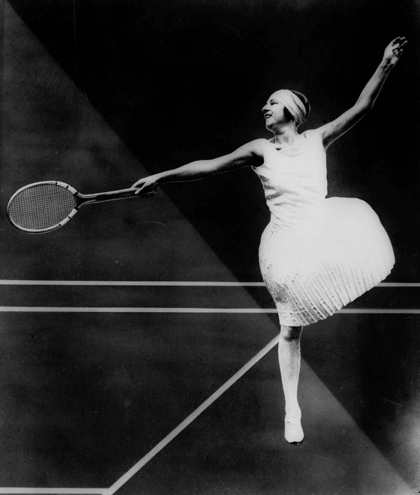 French tennis player Suzanne Lenglen dominated women's tennis from 1914 until 1926. Suzanne Lenglen won six Wimbledon titles