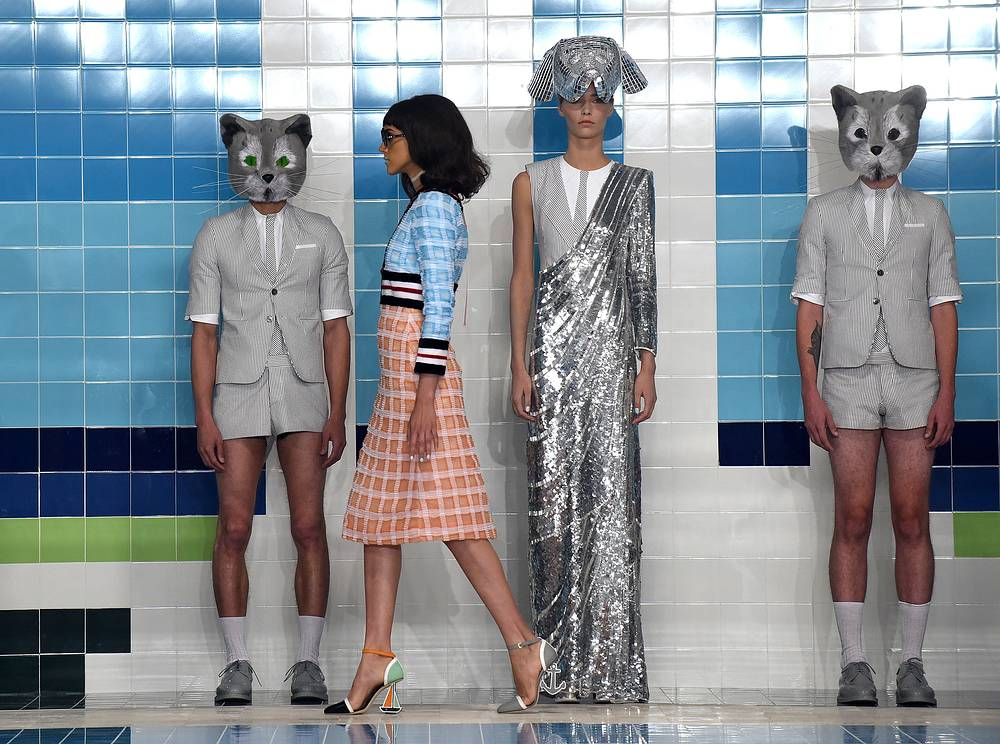 The Thom Browne Spring 2017 collection showed at Fashion Week in New York, September 12