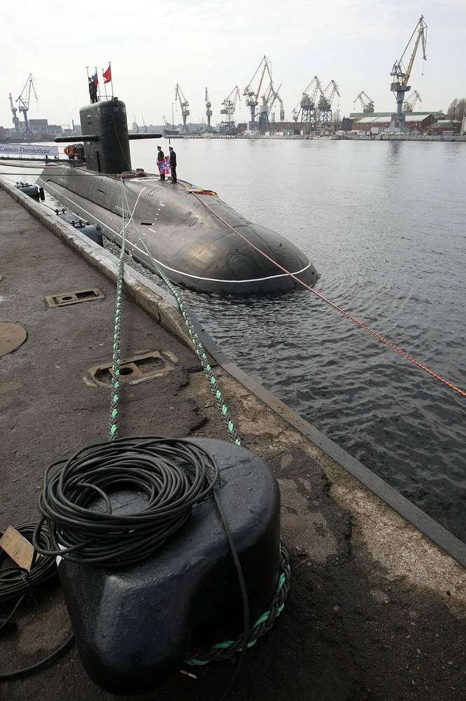 The St. Petersburg submarine