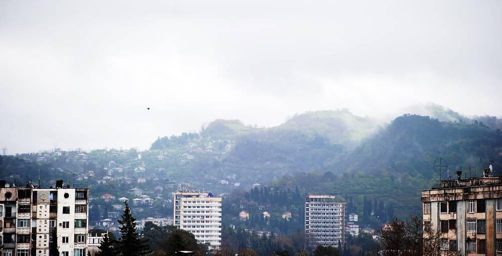View of Sukhumi