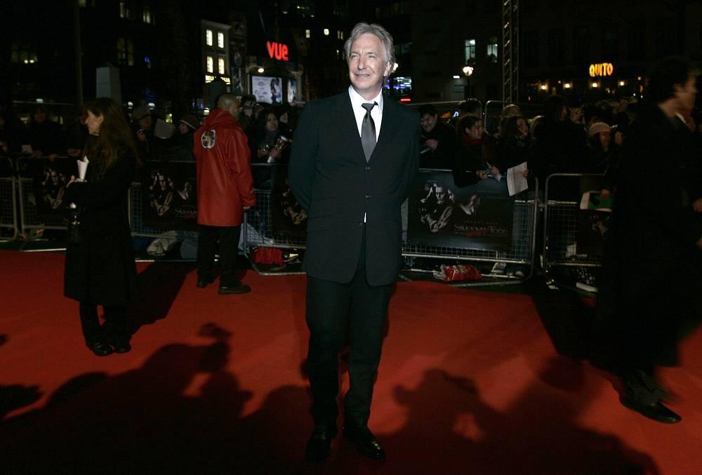 British actor Alan Rickman died aged 69 on January 14