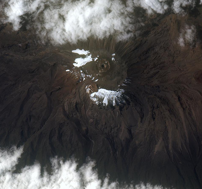 Kilimanjaro volcano, Tanzania