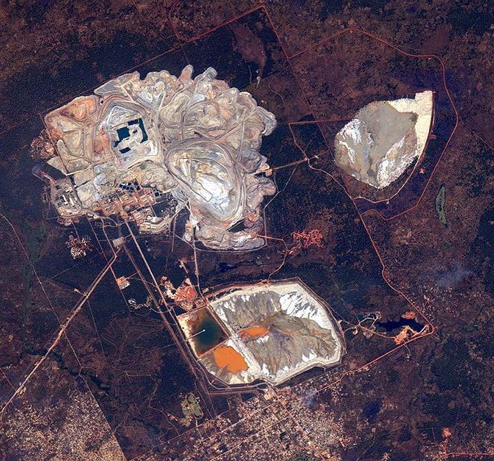 Kansanshi copper mine, Zambia