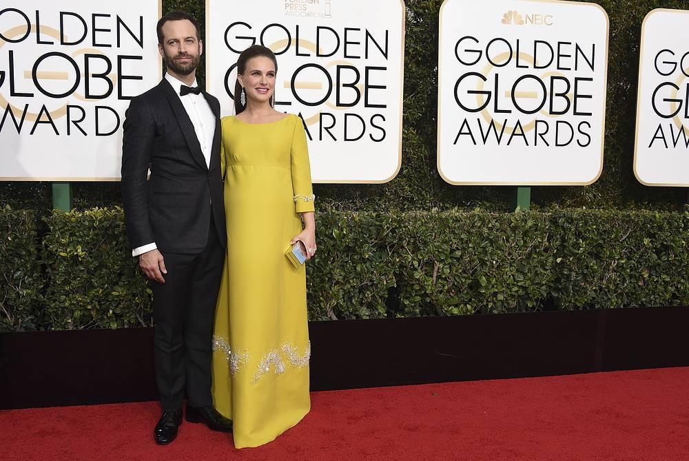 Natalie Portman and her husband Benjamin Millepied