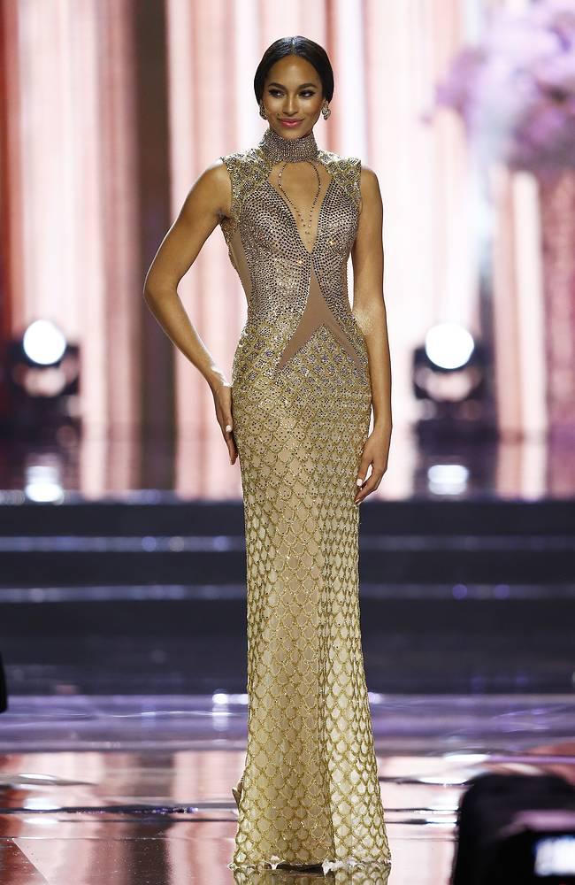 Miss Universe first runner-up Raquel Pelissier from Haiti