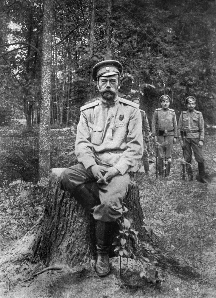 On March 15, the Russian Tsar, Nicholas II, signed his enforced abdication in favour of Grand Duke Mikhail. Photo: Tsar Nicholas II, March 1917