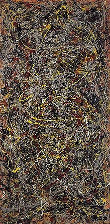 No. 5, 1948 is a painting by abstract expressionist Jackson Pollock. 