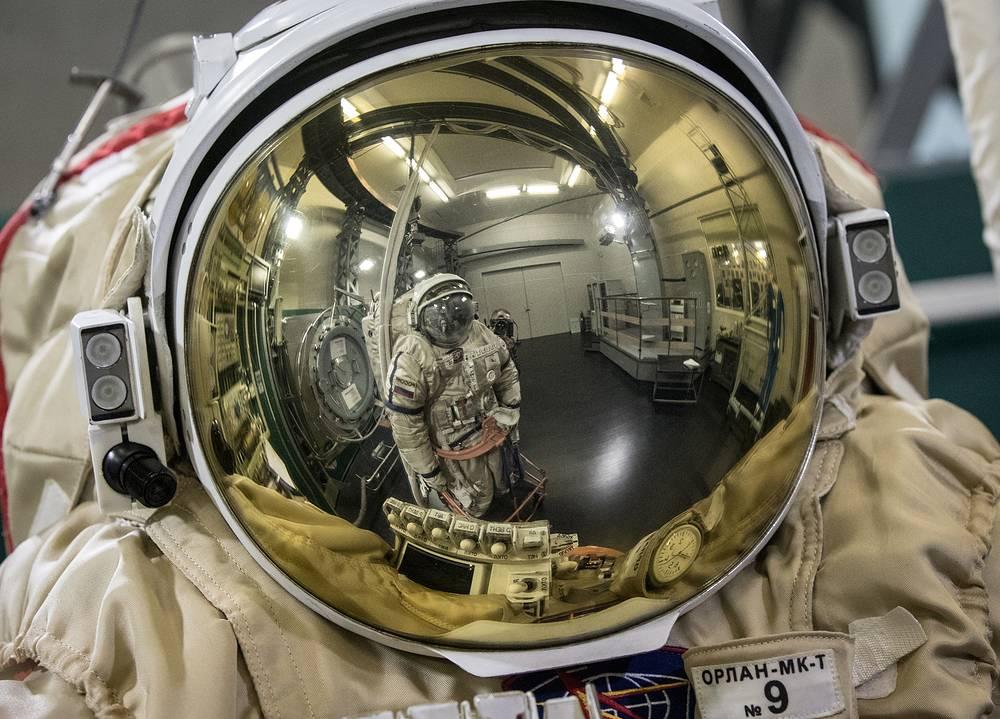 Orlan MK-T space suit