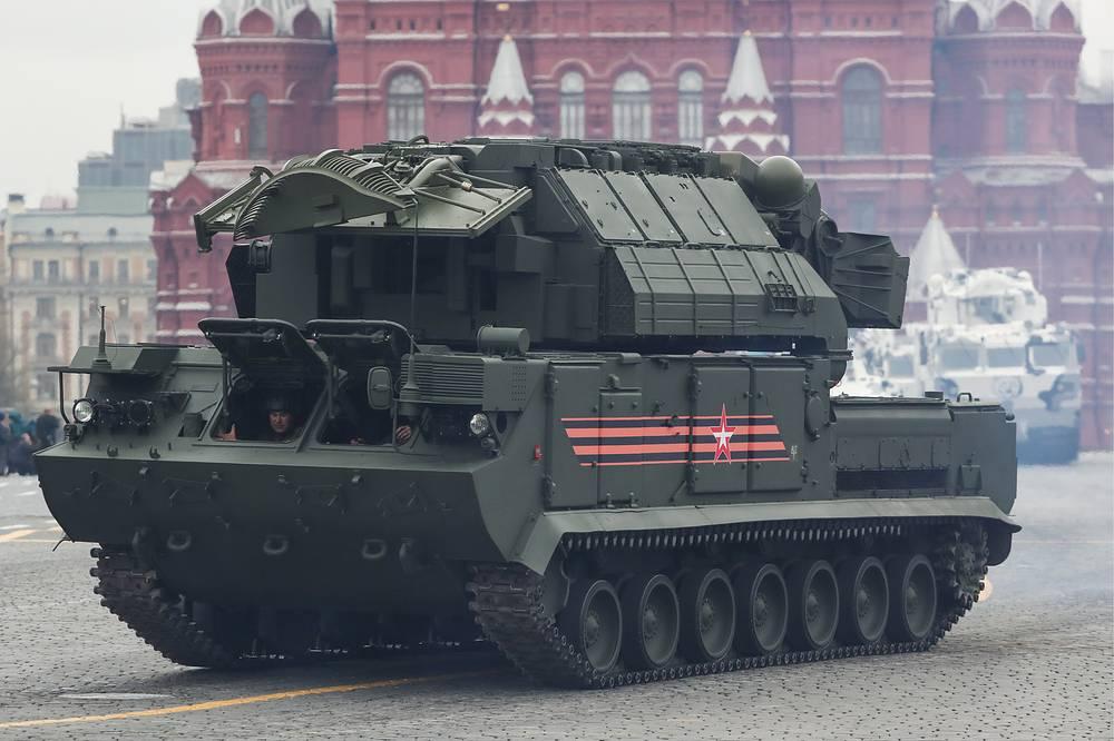 Tor-M2U anti-aircraft missile system