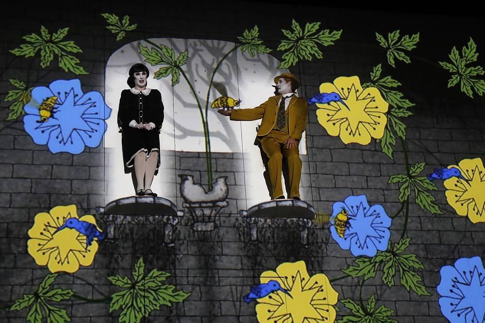 The Magic Flut by the Komische Oper Berlin