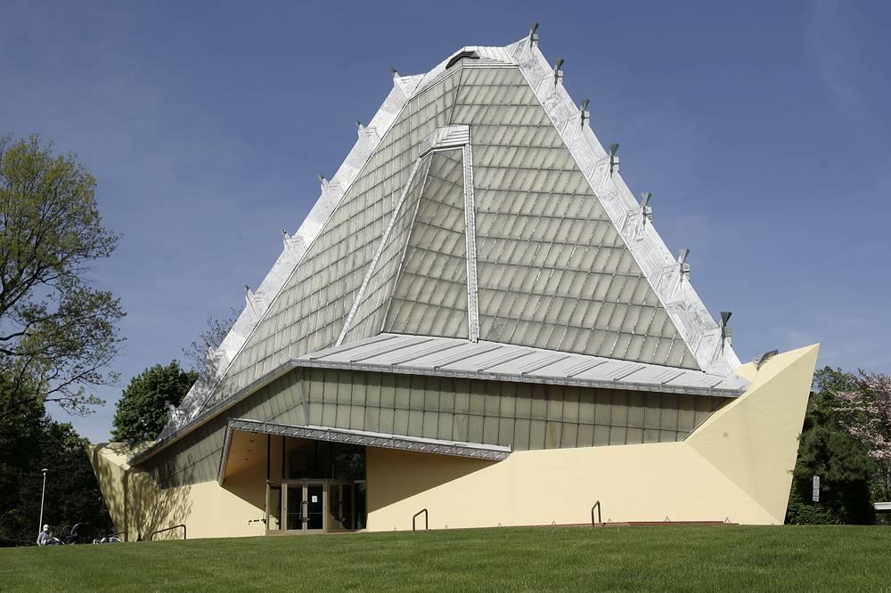 Beth Sholom Synagogue in Elkins Park, designed by Frank Lloyd Wright