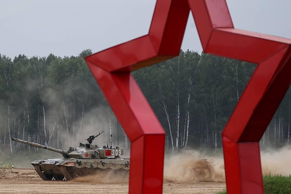 China's Type 99 (ZTZ-99) tank