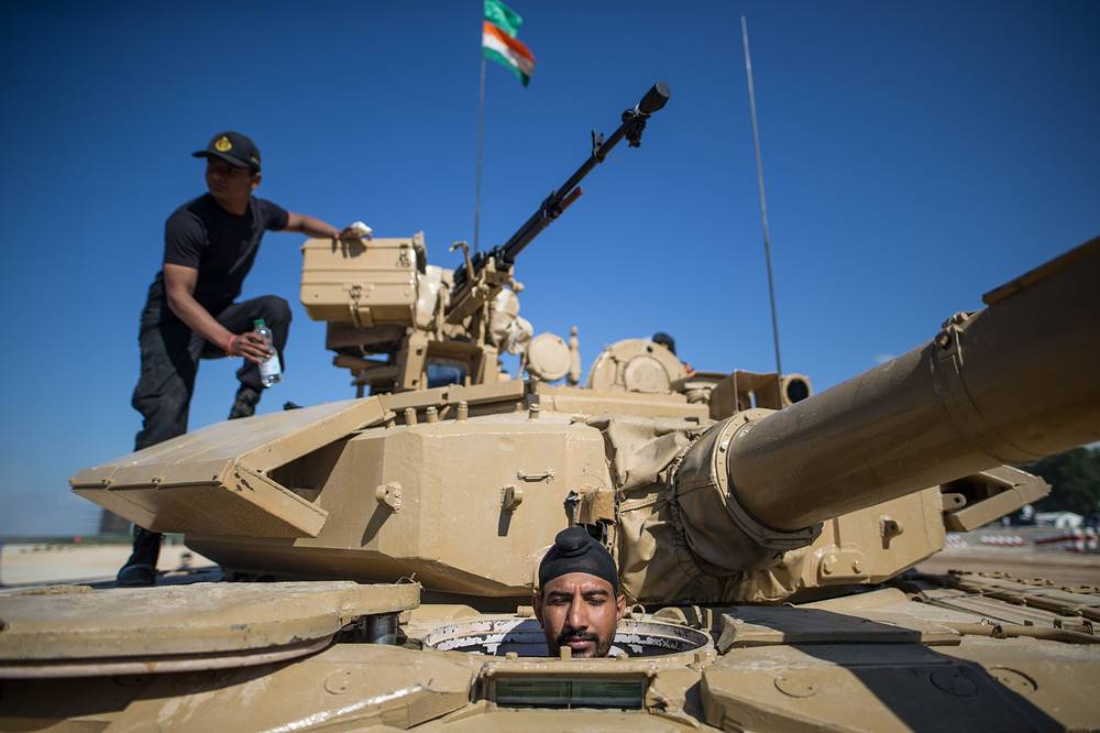 India's tank crew