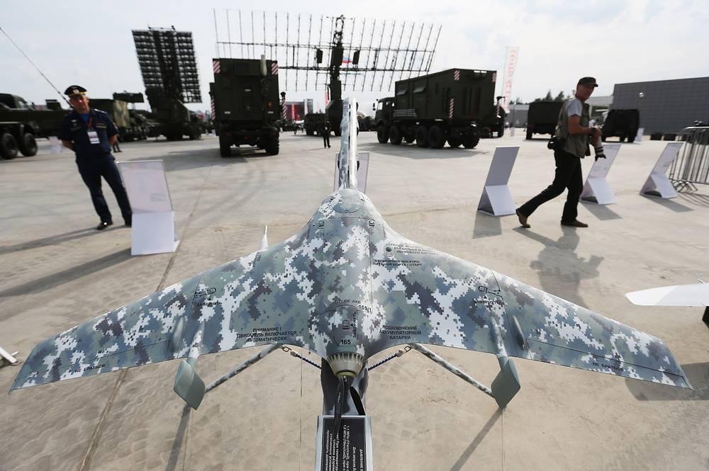Eleron-3 reconnaissance unmanned aerial vehicle