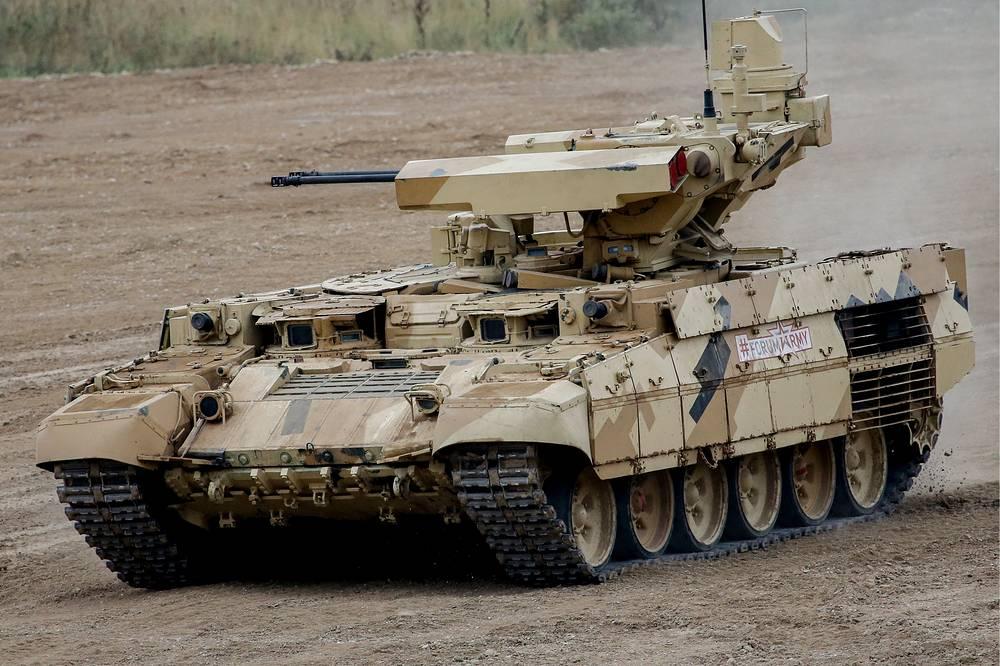 Terminator-3 infantry fighting vehicle