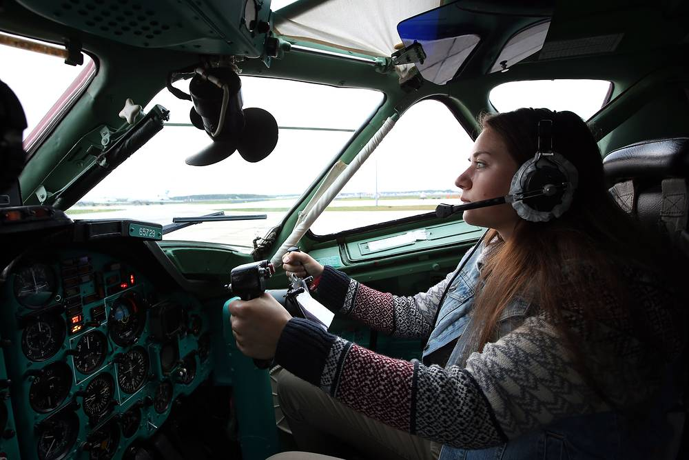 Krasnodar High military aviation school for pilots has been accepting women since 2009, but not for pilot training