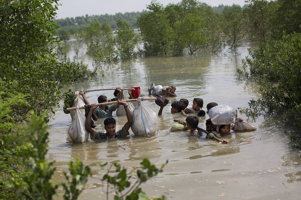 Most of Myanmar's estimated 1 million Rohingya live in northern Rakhine state. They face severe persecution, with the government refusing to recognize them as a legitimate native ethnic minority, leaving them without citizenship and basic rights