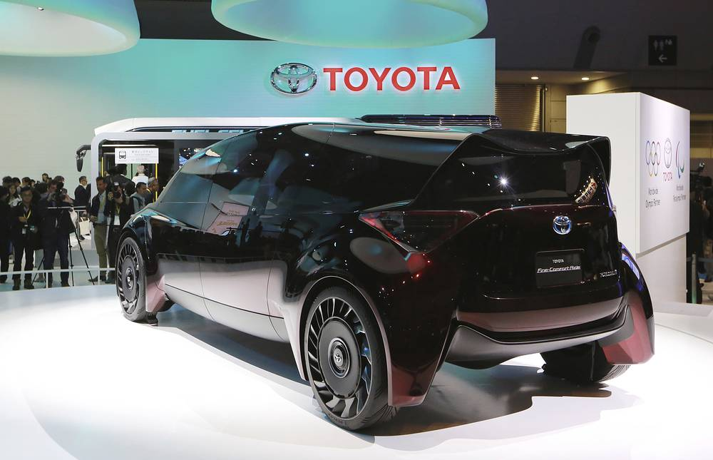 Toyota's Fine-Comfort Ride