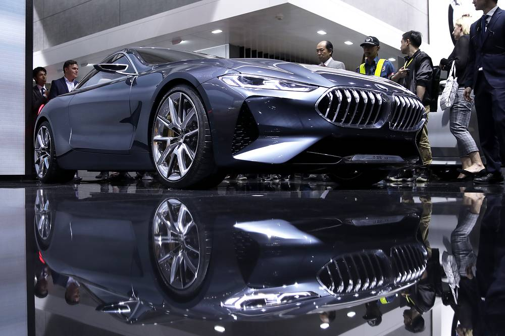 BMW AG's BMW 8 Series Concept is displayed at the 45th Tokyo Motor Show