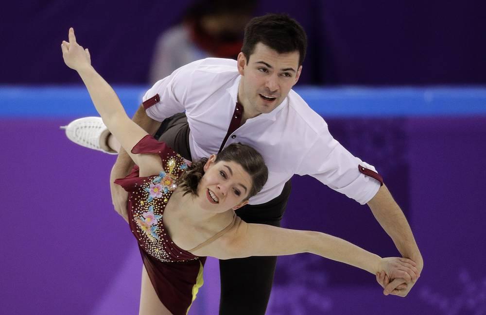 Miriam Ziegler and Severin Kiefer of Austria