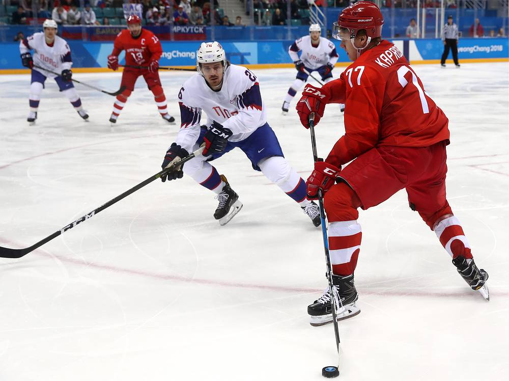 Russian 'neutral' ice hockey team routs Norway in PyeongChang