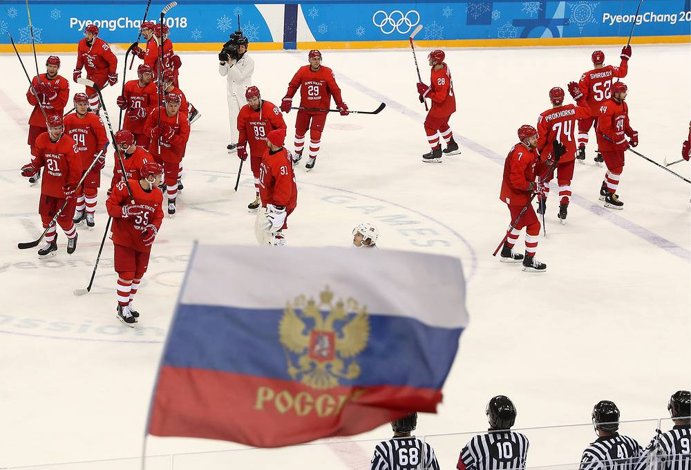 Olympic Athletes from Russia pound Norway 6-1 to reach Olympic semifinal