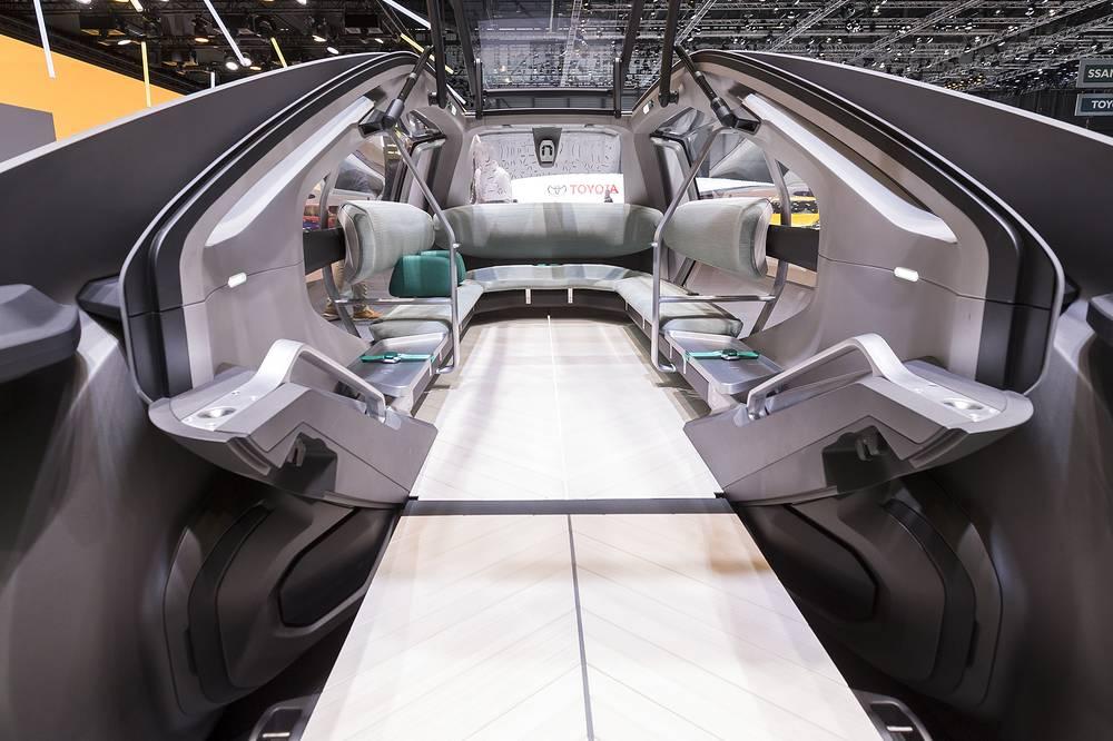 New Renault EZ-GO concept car