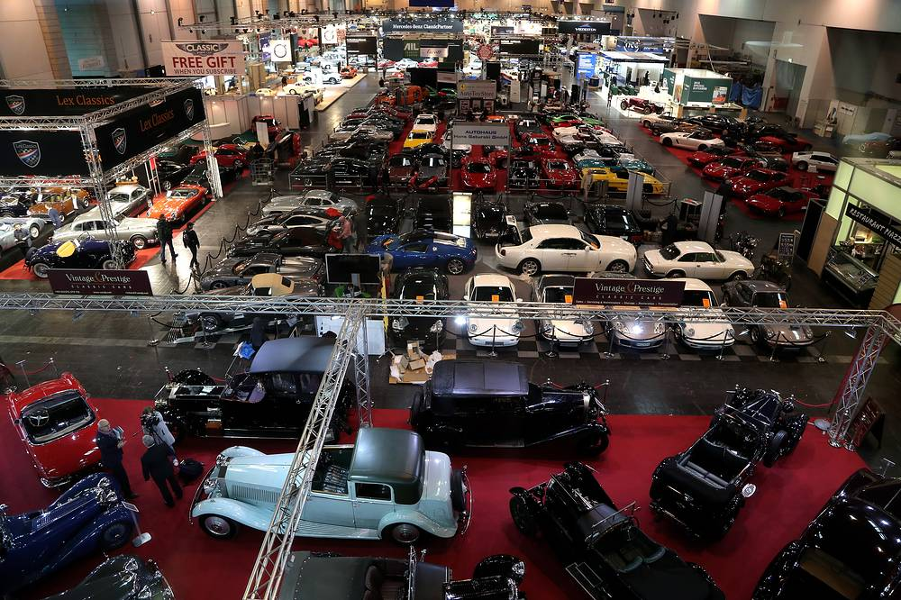 'Techno Classica' fair for classic and vintage cars in Essen