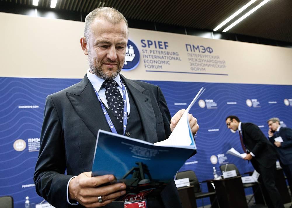 Andrei Melnichenko, owner of EuroChem Group, $15.5 bln