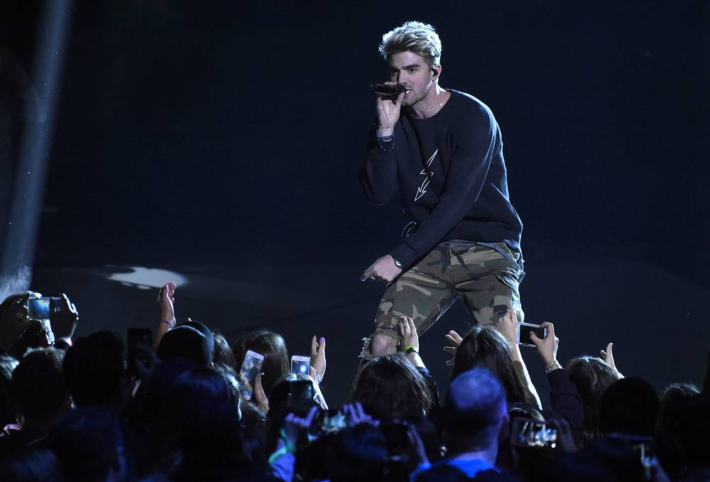 American DJ Andrew Taggart, of The Chainsmokers ($45.5 million)