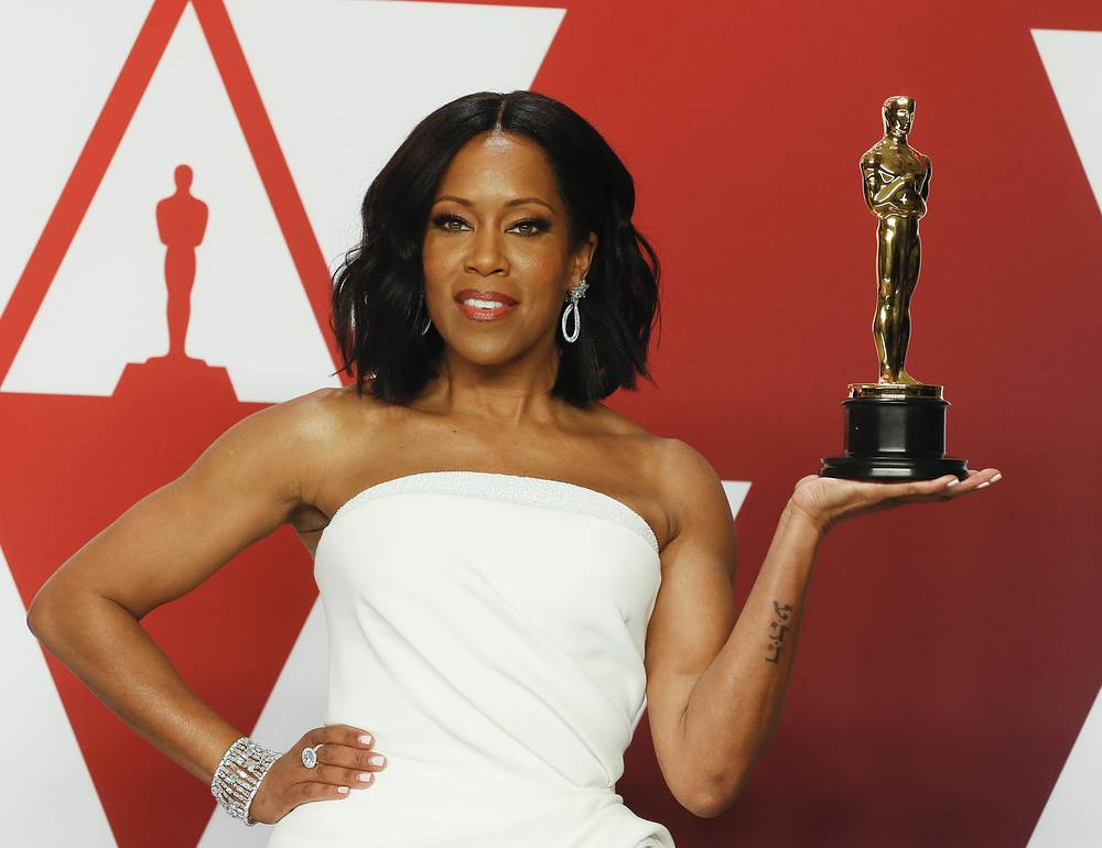 Regina King winner of the Supporting Actress Award for 'If Beale Street Could Talk'