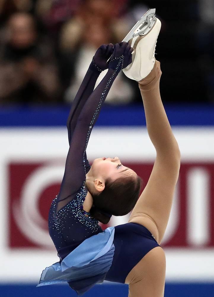 Elizabet Tursynbaeva of Kazakhstan