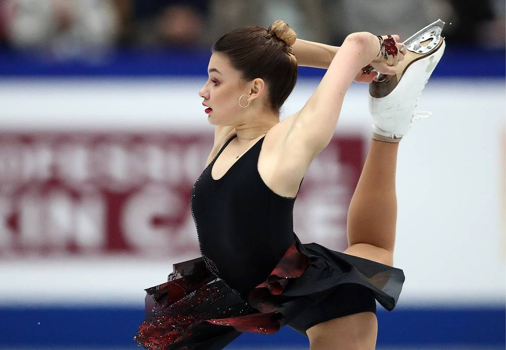 Sofia Samodurova of Russia