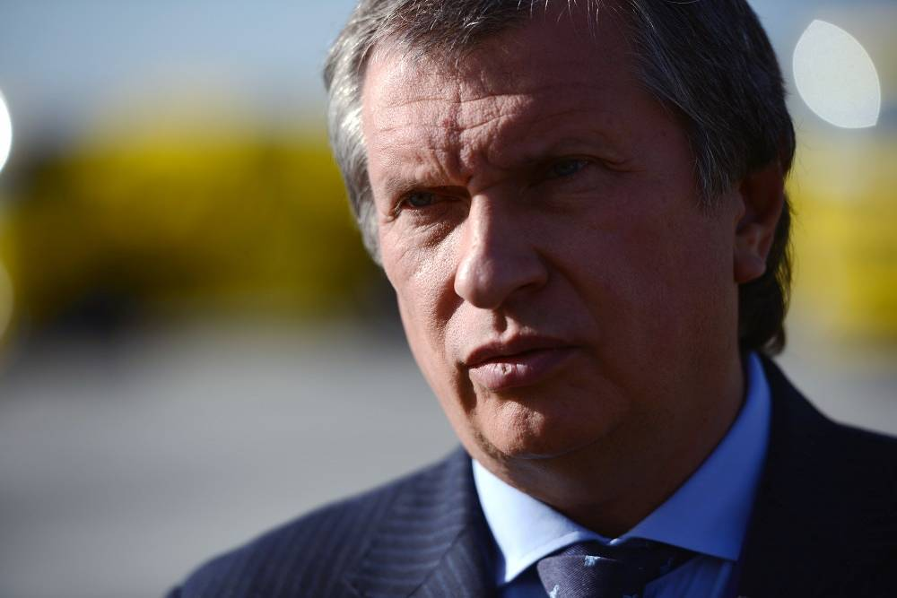 Rosneft's President Igor Sechin, $50 million