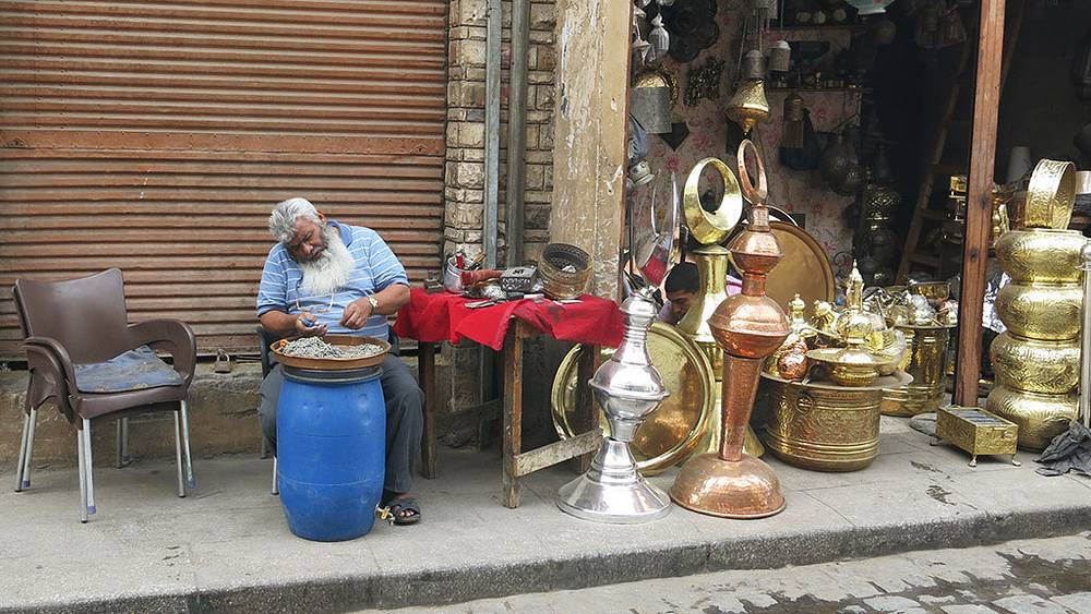Базар Хан-эль-Халили в Каире. Фото Дмитрий Добродеев