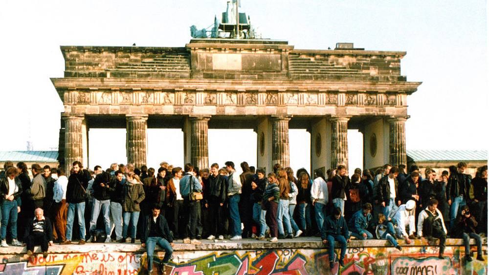 Браденбургские ворота, 10 ноября 1989. Фото АР