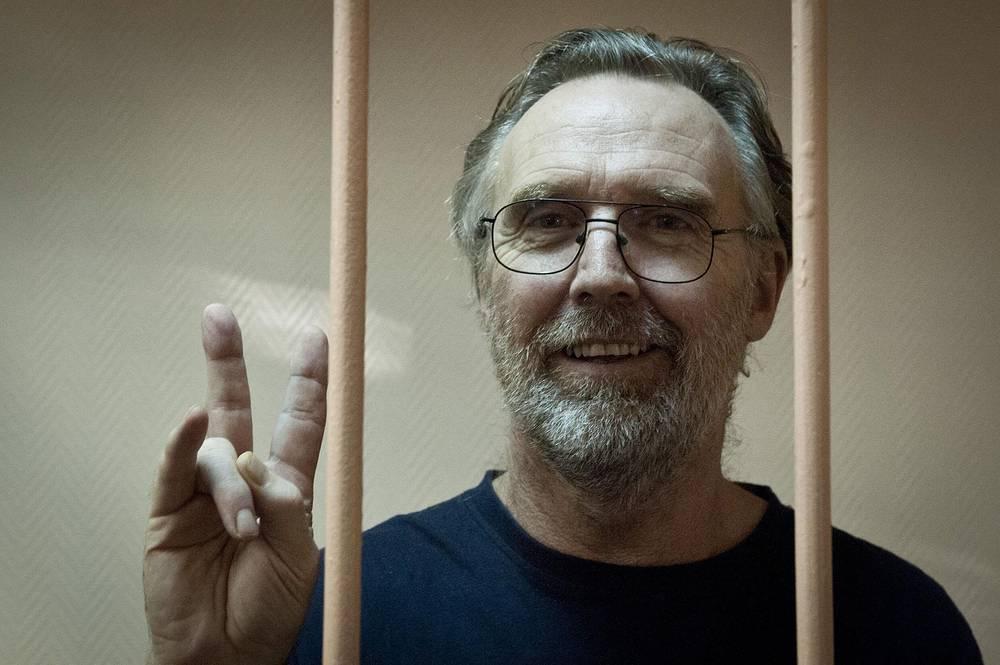 """Активист """"Гринпис"""" гражданин Австралии Колин Рассел."""