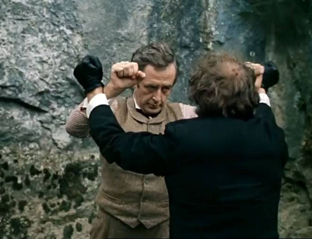 Схватка Шерлока Холмса и профессора Мориарти