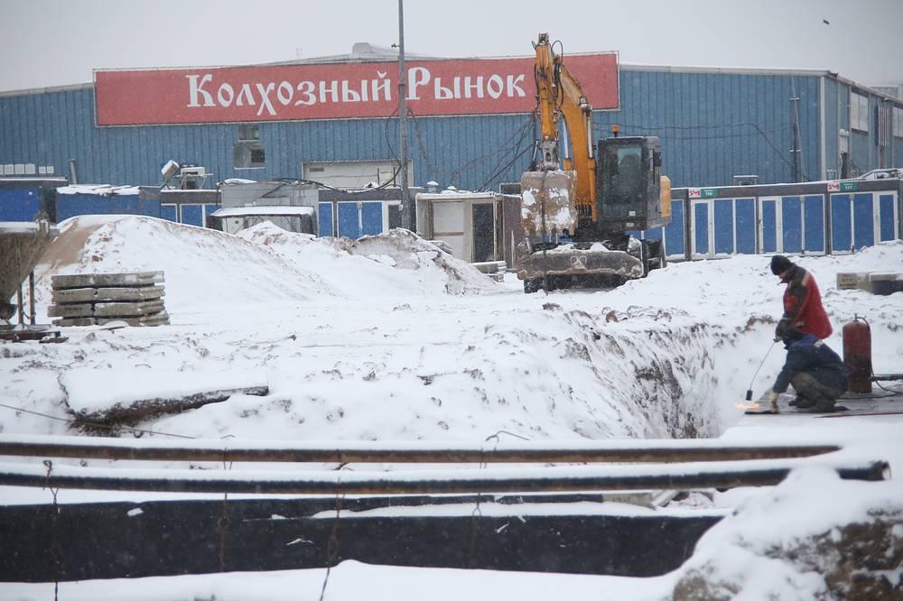 Ликвидация контейнерного рынка в Мытищах