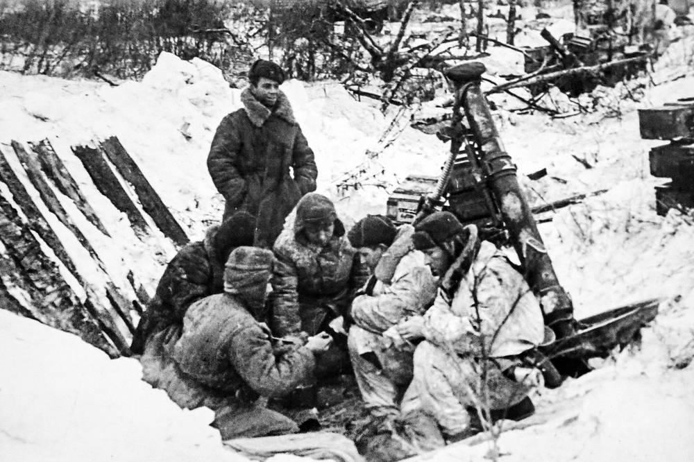 Минометчики.1941-1942 гг.